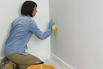 How to paint your wall - step 3
