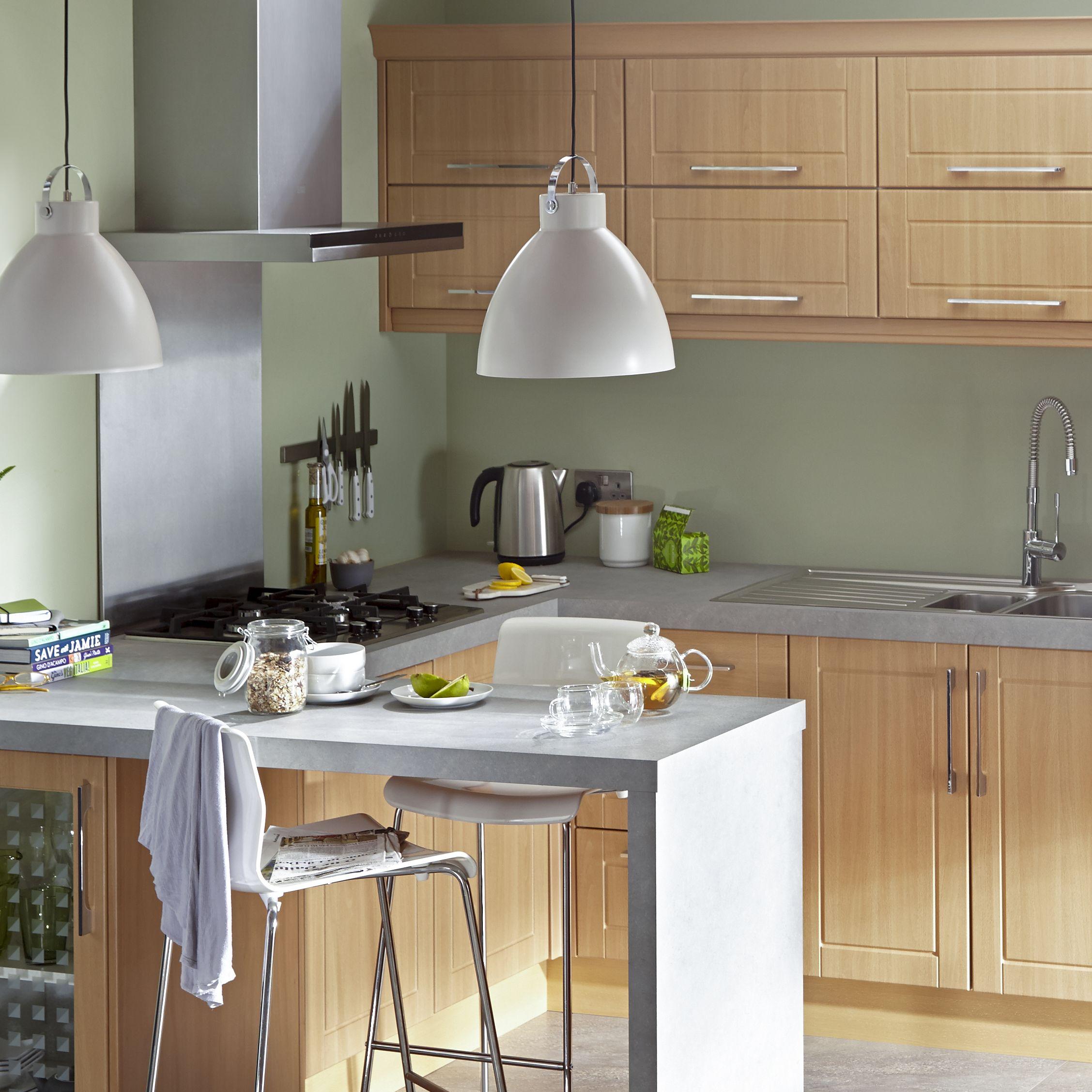 Consider the kitchen