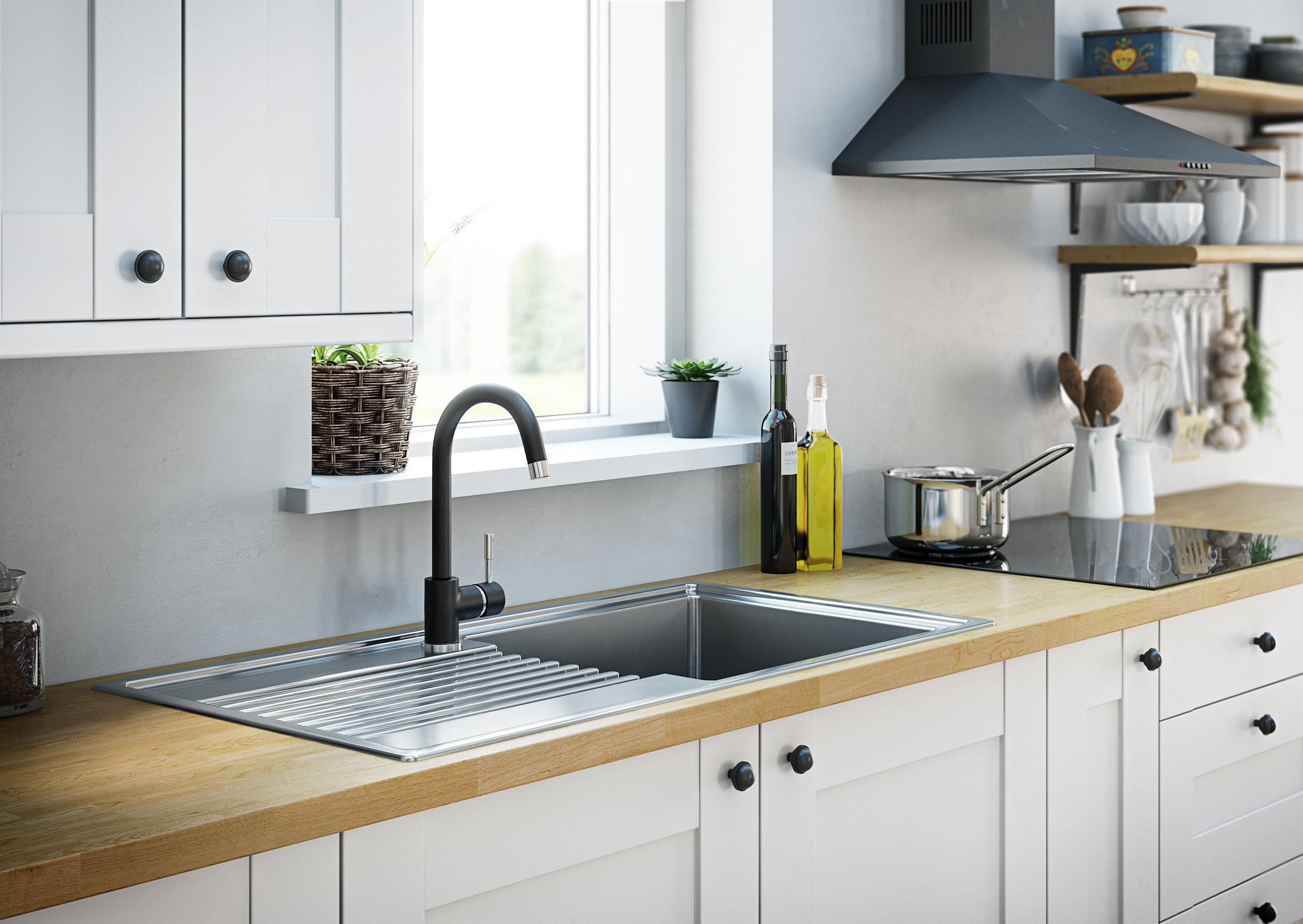 Etonnant Fine Kitchen Sinks Taps Photos   Best House Designs Photos .
