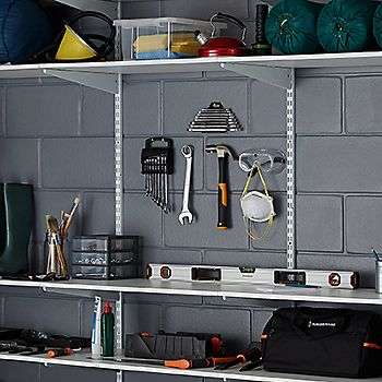 Garage Storage System >> Garage Storage Buying Guide Ideas Advice Diy At B Q