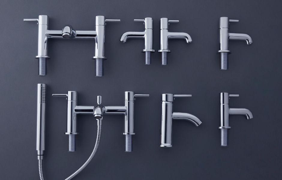 Cooke & Lewis Hoffell Bathroom Taps