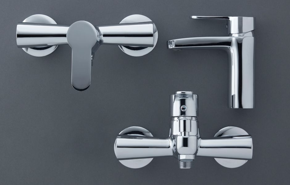 Cooke & Lewis Lecci Bathroom Taps
