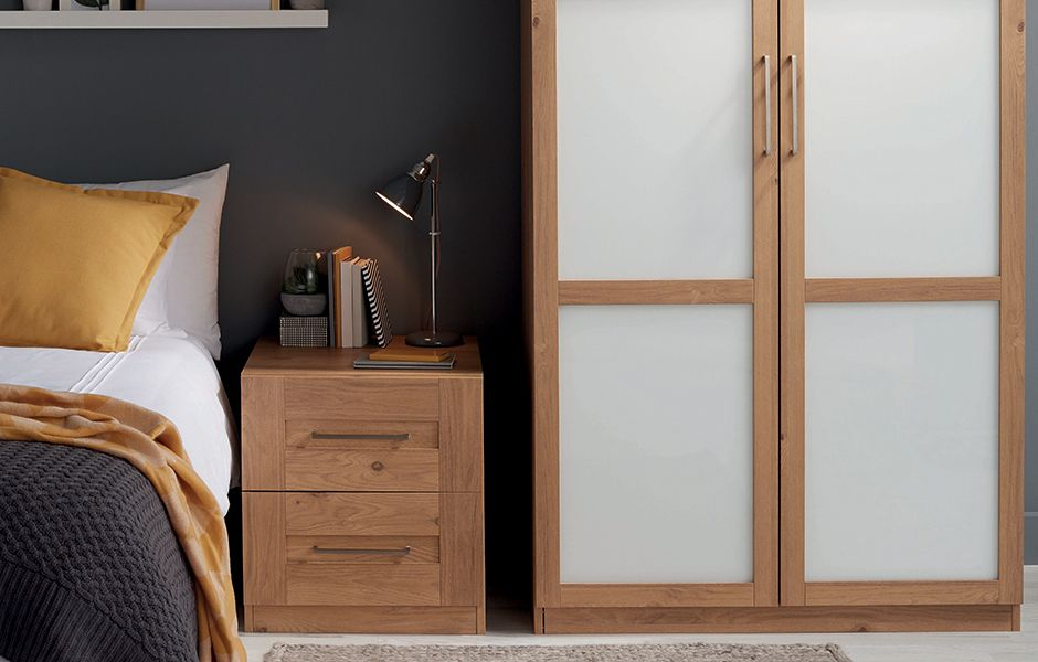 thumbnail: Darwin furniture range in oak and anthracite