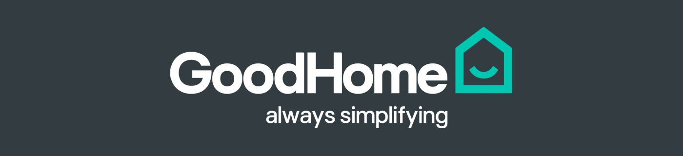 GoodHome logo - 'GoodHome always simlifying'