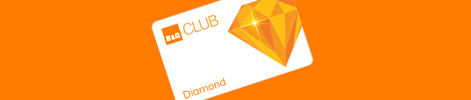 B&Q Diamond Card