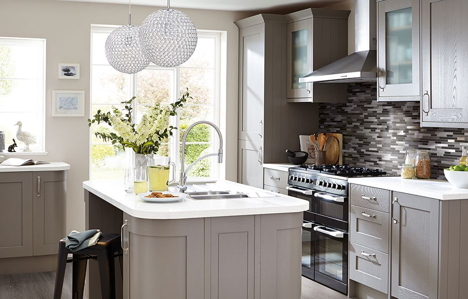 Get the look: Carisbrooke Taupe kitchen