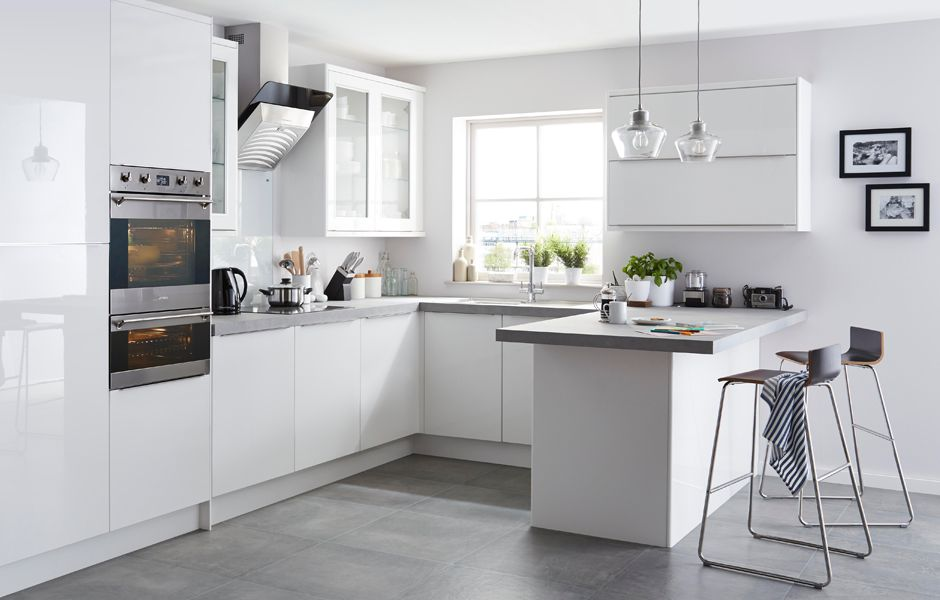 Get the look: Santini White kitchen