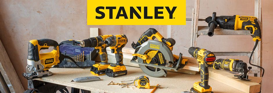 Stanley power and hand tools