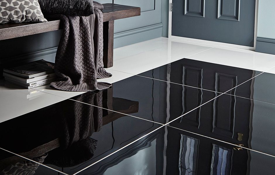 thumbnail: Polished porcelain Floor Tiles