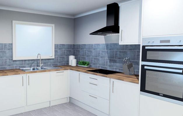 thumbnail: White Gloss Kitchen