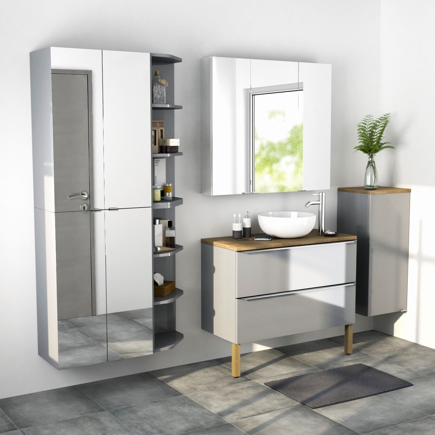 Imandra | Modular Bathroom Furniture