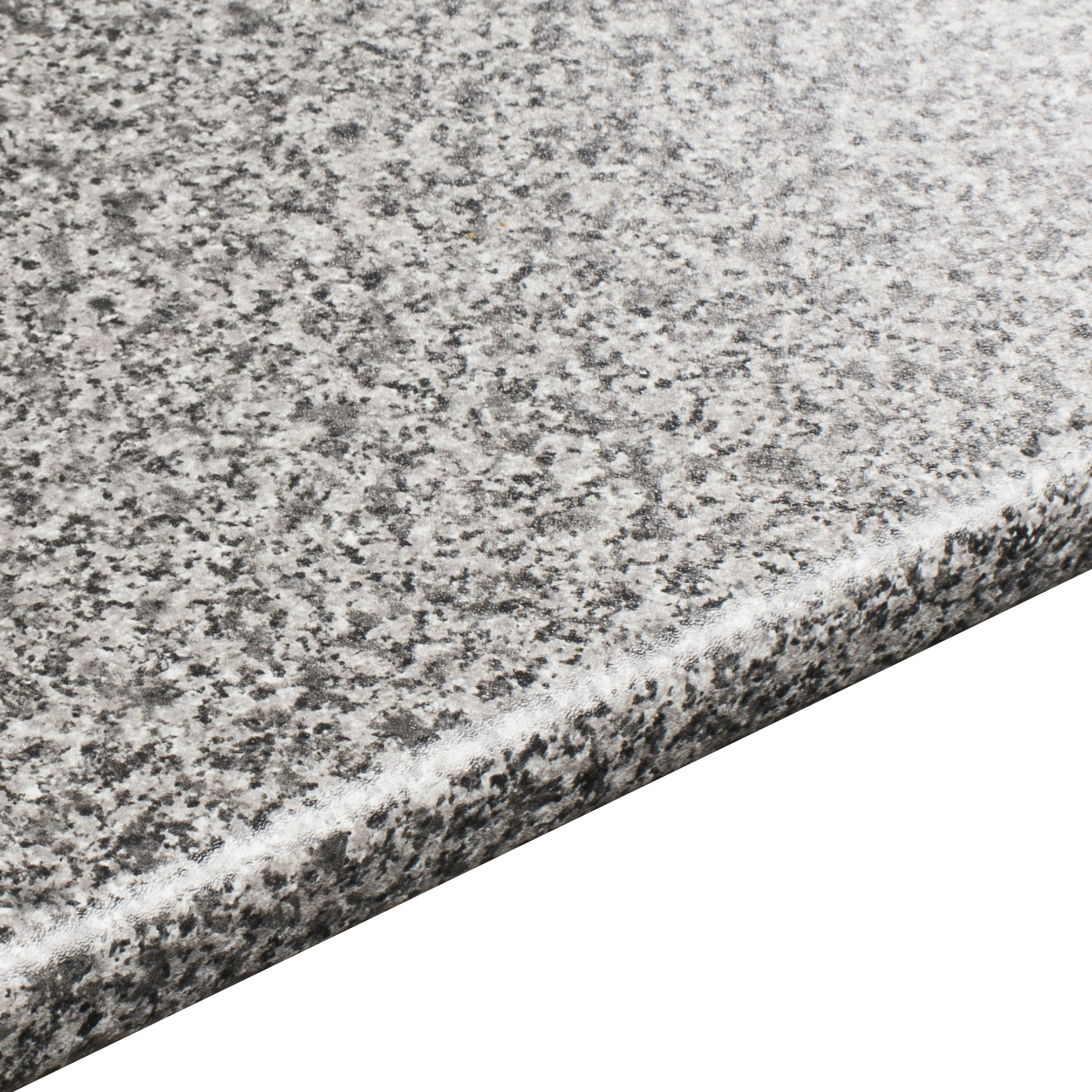 28mm Inari Grey Granite effect Round edge Laminate