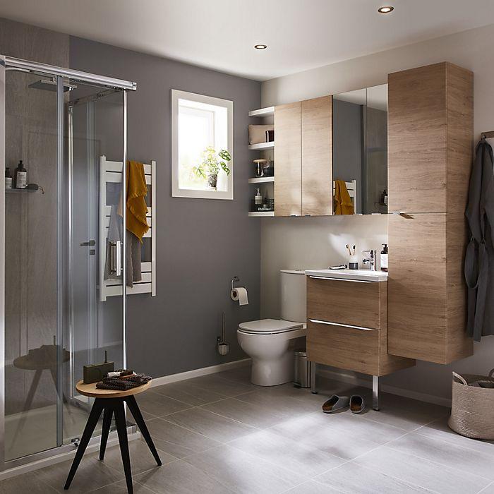 The compact bathroom | Ideas & Advice | DIY at B&Q
