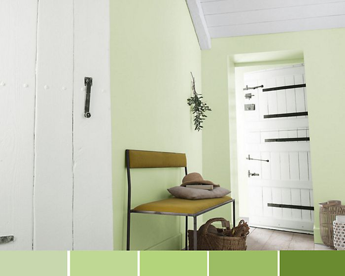 Monotone colour schemes