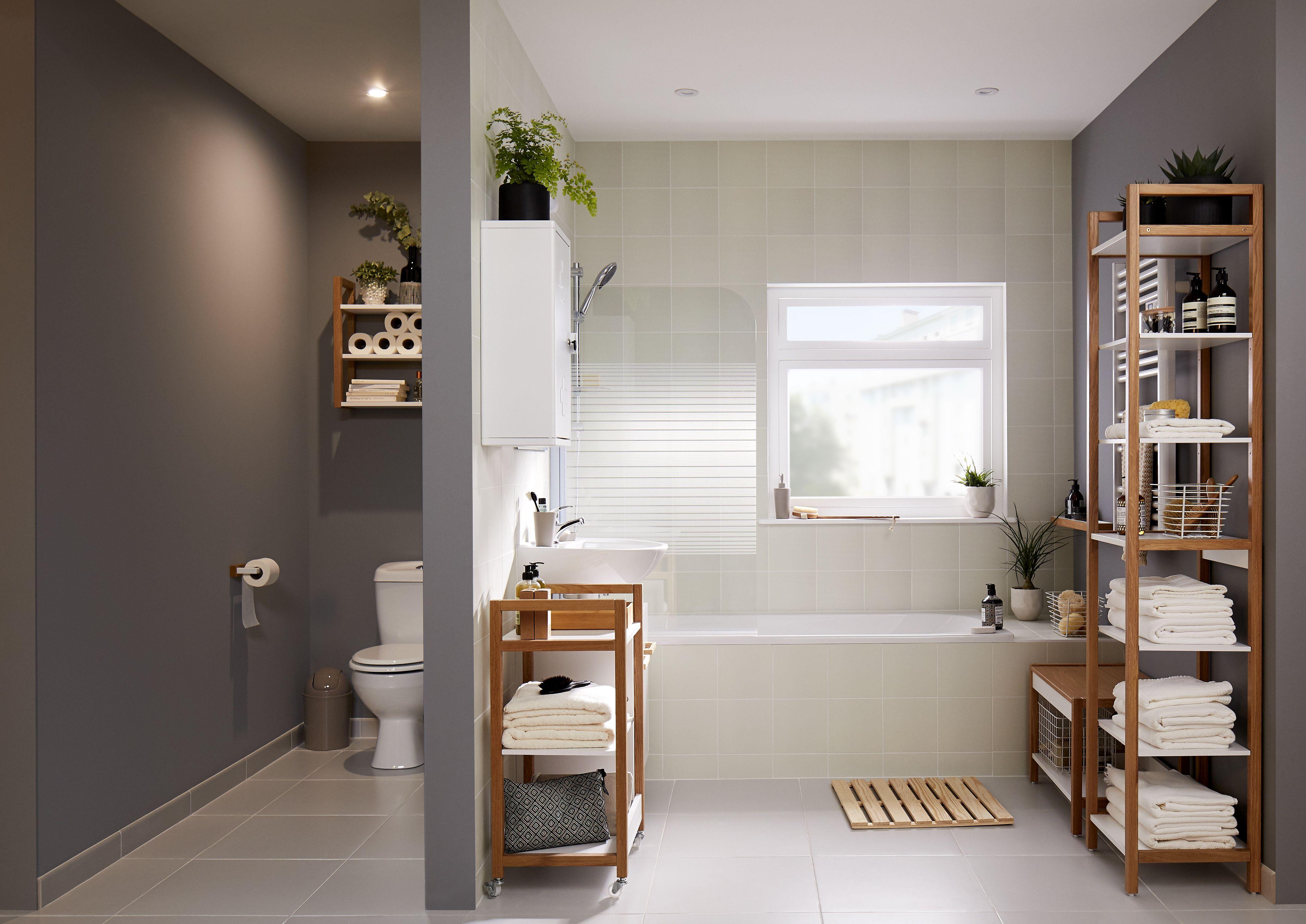 Artificial Grass Balcony Ideas, Small Bathroom Ideas Ideas Advice Diy At B Q