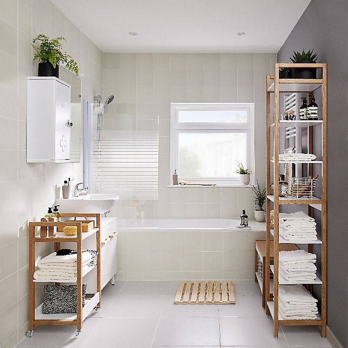 Rented bathroom