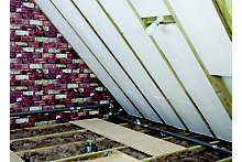 How to lay loft floor insulation