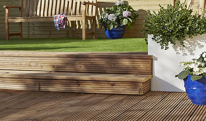 Decking ideas ideas advice diy at b q for B and q timber decking