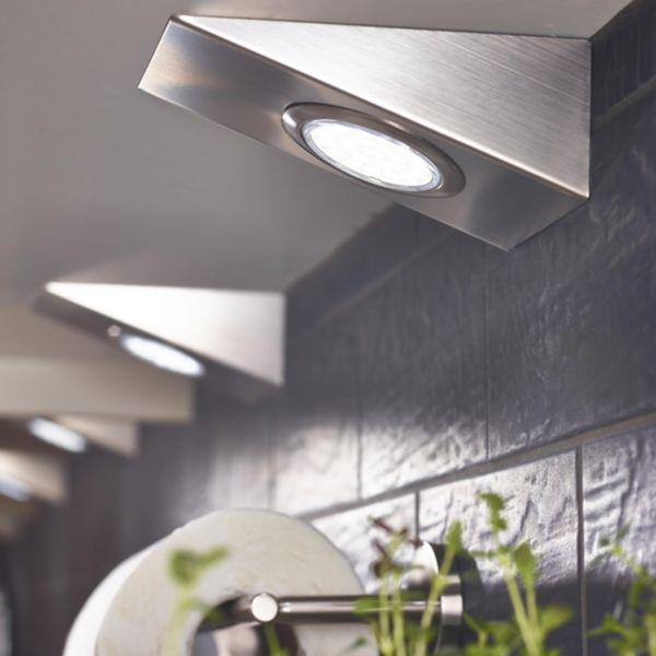 Lighting led lights diy at b q for Diy concrete lamp