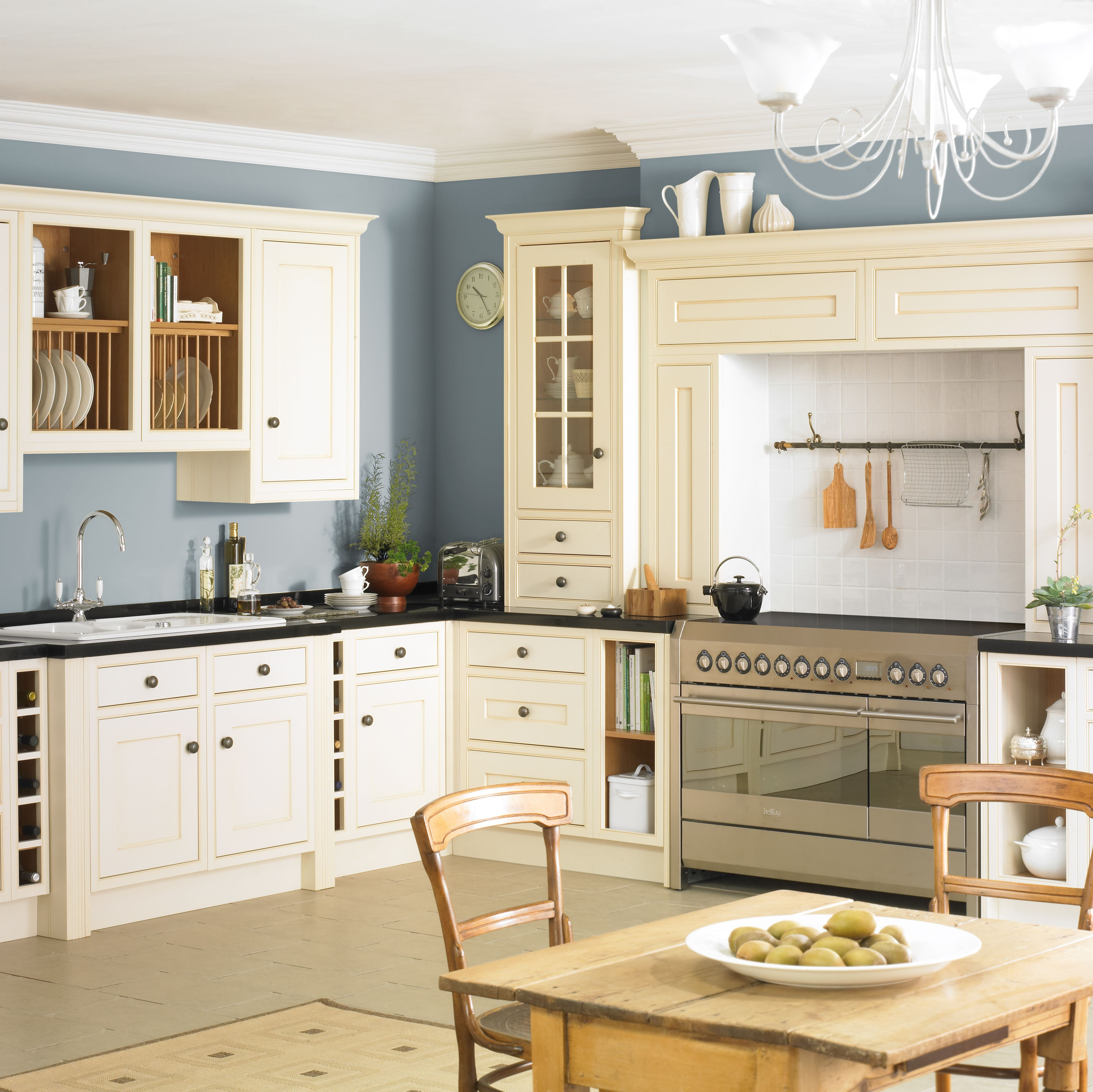 Vintage Kitchen Design Ideas Part - 48: Bu0026Q