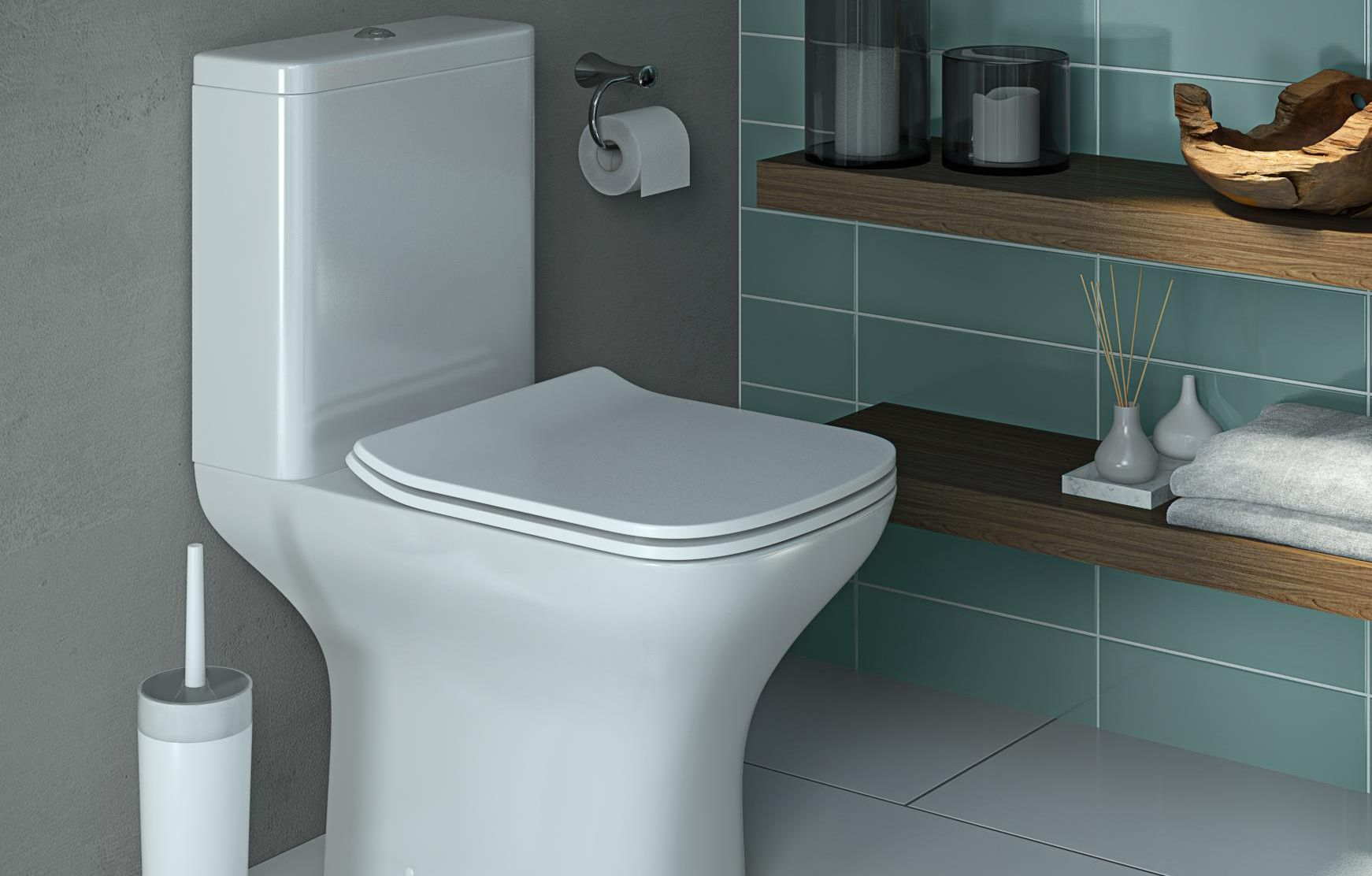 thumbnail: Lanzo Close Coupled Toilet
