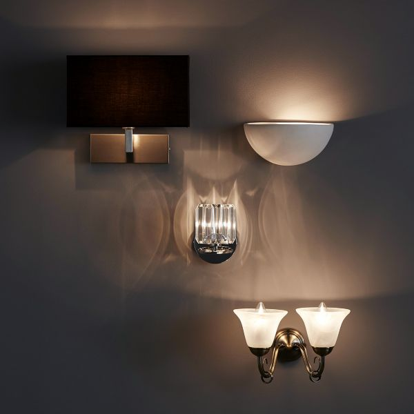 Kitchen lighting range wall lights