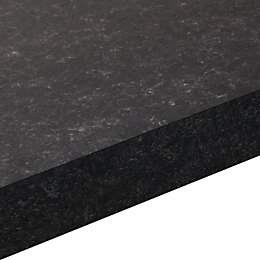 38mm Lima Laminate Matt Granite effect Square edge