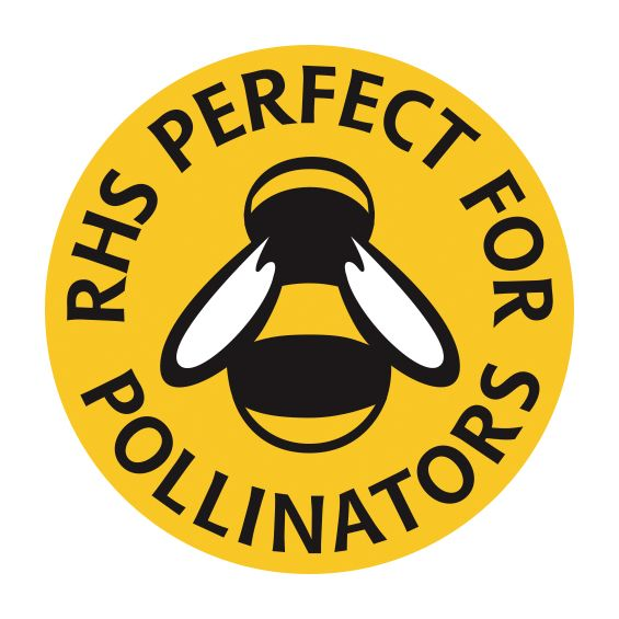 RHS Perfect for pollinators logo