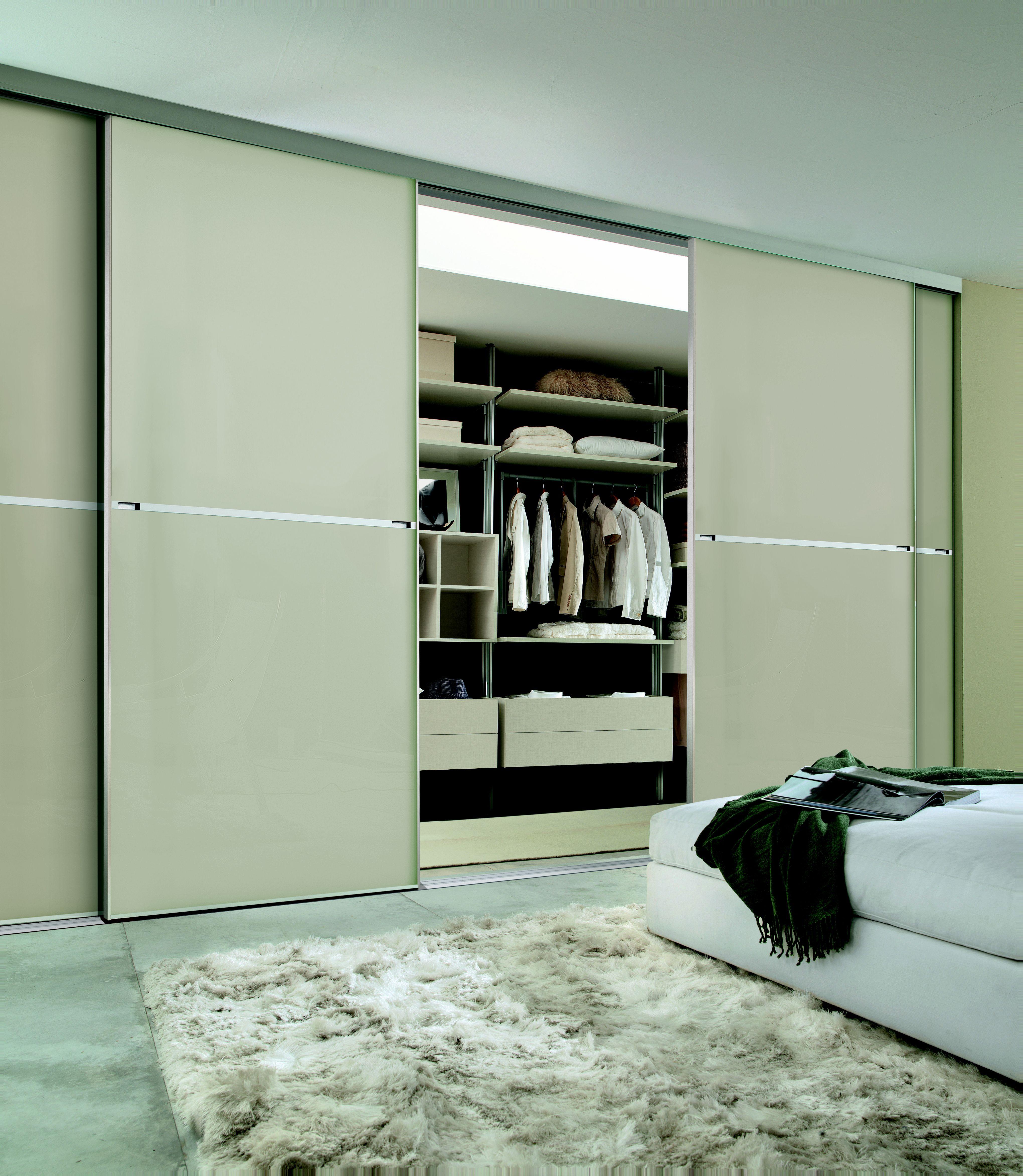 Minimalist made to measure sliding wardrobe doors in white & Sliding wardrobe doors buying guide | Ideas \u0026 Advice | DIY at B\u0026Q
