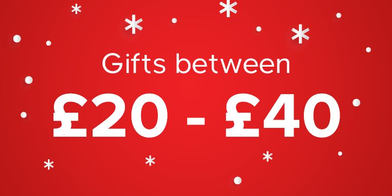 Gifts between £20 - £40