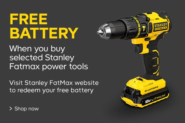 Stanley free battery offer