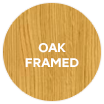 Carisbrooke Oak Framed swatch