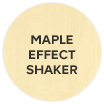 Westleigh Contemporary Maple Effect Shaker swatch