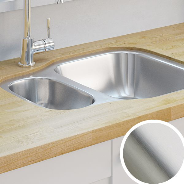 Image Of Wickes Kitchen Sinks Wickes Asterite 15 Bowl Reversible ...