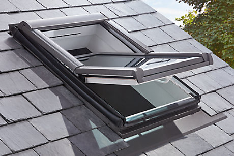 A close up of our premium site roof windows