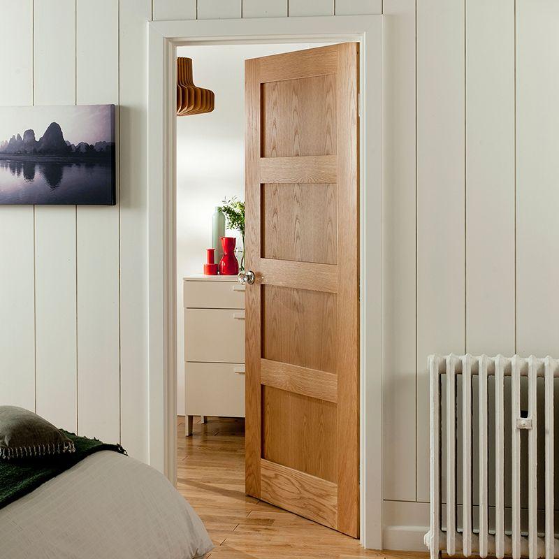 4 Panel shaker doors & Internal Doors | Doors | DIY at B\u0026Q