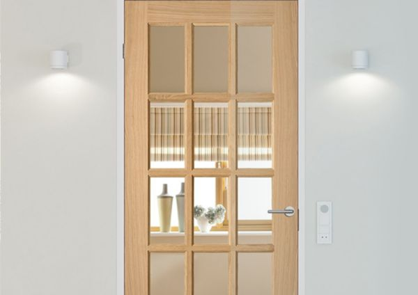 Fully glazed doors