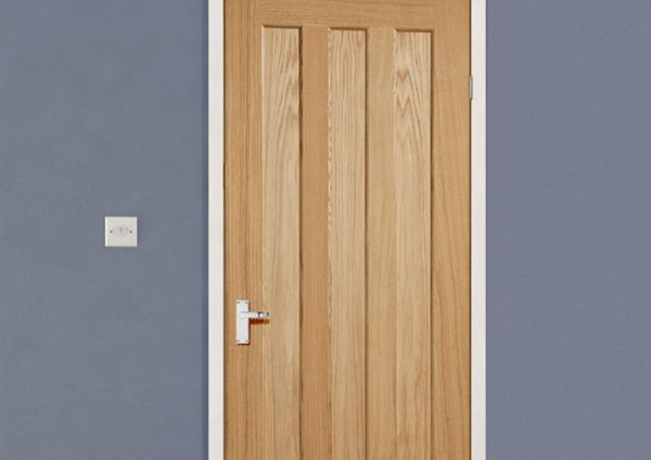 Vertical panel doors