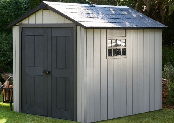 how to move a plastic garden shed
