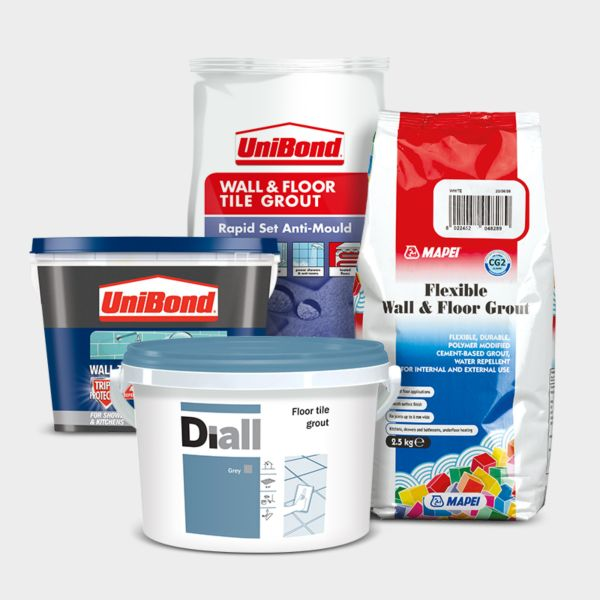 Adhesive grouts & sealants