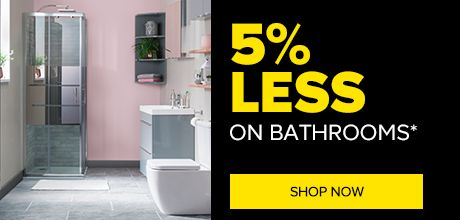 Trade Pay 5% Less on Bathrooms at TradePoint