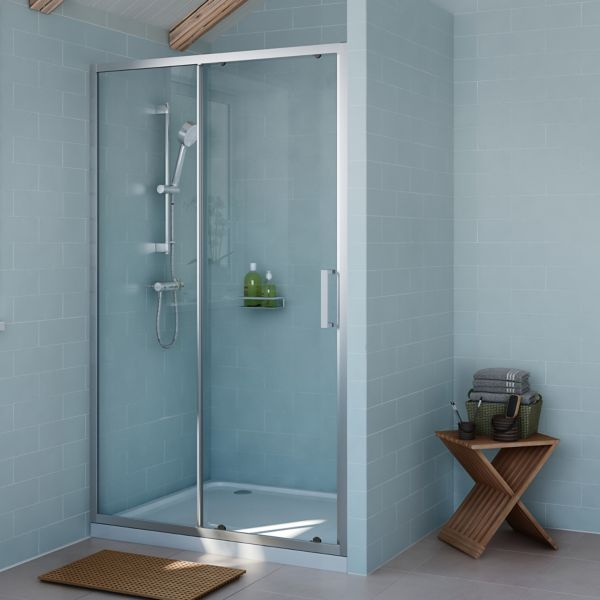 Shower Enclosures Doors Shower Cubicles Trays Diy At B Q