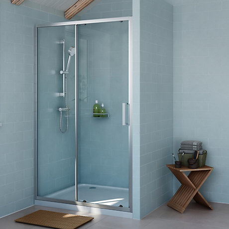 Shower Enclosures & Doors | Shower Cubicles & Trays | DIY at B&Q
