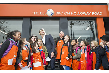 B&Q Holloway Road store opening