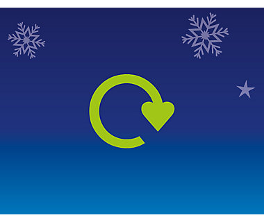Illustration of recycling logo