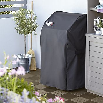 Protective cover on Weber Spirit Gas Barbecue
