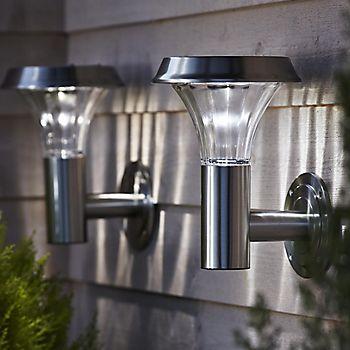 Solar powered lighting
