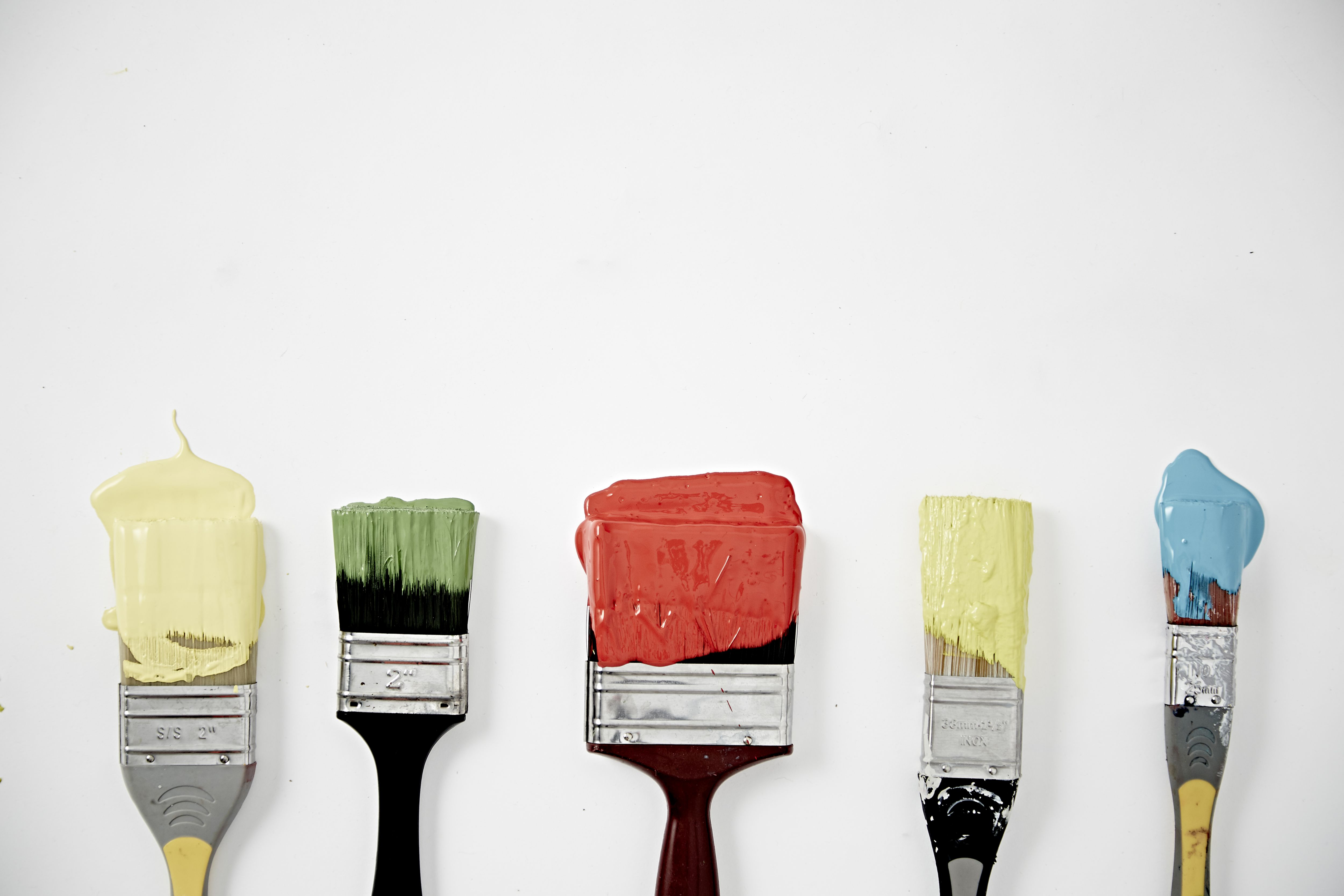 Paint On Brushes