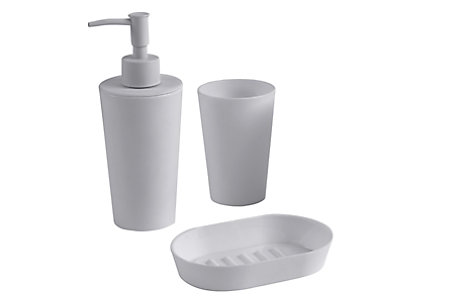 Palmi Silver Bathroom Accessories