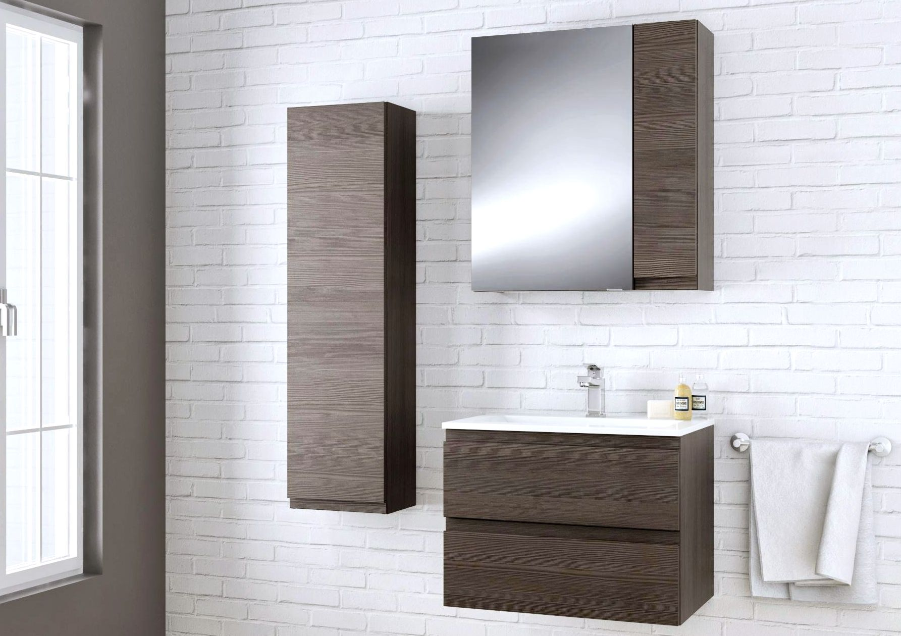 dark brown bathroom wall cabinet bathroom furniture cabinets amp free standing furniture 14420